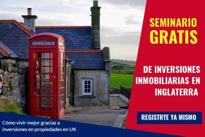 Seminario Gratis de Inversiones Inmobiliarias en Inglaterra
